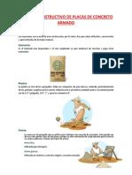 Proceso Constructivo de Placas de Concreto Armado