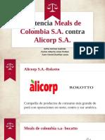 Caso Meals De Colombia