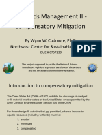 Wetlands Management II - Compensatory Mitigation