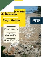 encuentro playa guibia