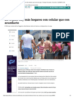 Colombianos Tienen Más Celulares Que Servicio de Agua - Finanzas Personales - Economía - ELTIEMPO.com