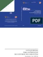 Guia Judicial Para Audiencia de Control de Garantias v3