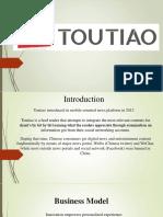 Toutiao Company Presentation