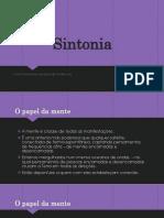 Sintonia medúnica