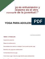 Yoga Adolescentes