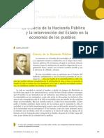 [Lectura 2] [La Ciencia de La Hacienda Pública] [Jaramillo] [Con Apuntes]