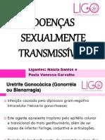 Doenças Sexualmente Transmissíveis Ligo - Paula e Naisla
