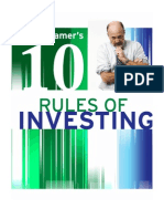 Jim Cramers 10 Rules of Investing
