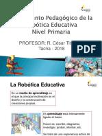 Fundamento Pedagógico de La Robótica Educativa - Nivel Primaria