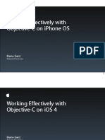 Session 113 - Working Effectively With Objective-C on iPhone OS