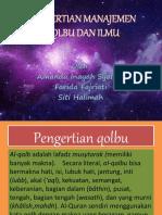 Persentasi Agama Manajemen Qolbu