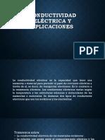 Conductividad Eléctrica y Aplicaciones