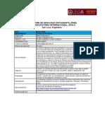 43 Convocatoria CRISCOS Plazas y Formularios