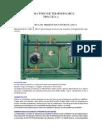 PRACTICA 4 MEDIDA DE LA CURVA DE PRESIÓN DE VAPOR DE AGUA.docx