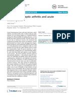 Treatment of Septic Arthritis and Acute Osteomyelitis