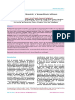 Antimicrobial Sensitivity of Neonatal Bacterial Sepsis