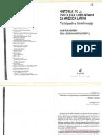 Historias de La Psicología Comunitaria en a.latina Cap 1