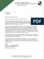 Letter from David Hicks April 22, 2019