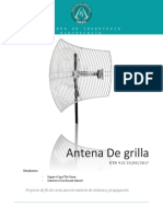 Grid Antenna (Last Proyect of the Course)