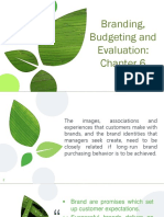 C.6 Branding Budgeting and Evaluation