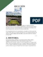 Historia Del Tennis