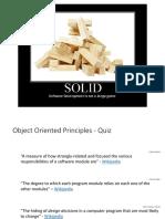 SOLID Presentation