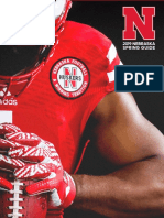 2019 Nebraska Football Spring Media Guide