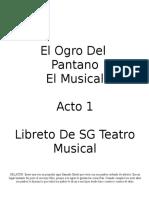 SHREK ACTO 1