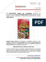 Alerta Al Consumidor Kellogg Company Mexico