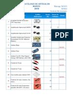 Catálogo Bitt Electronics Marzo 2