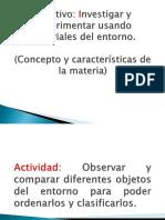CONCEPTOS DE LA MATERIA 4° BASICO