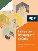 La importancia del transporte de carga
