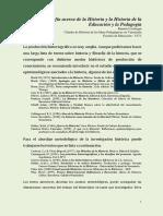 Historia de Las Ideas Pedagógicas en Venezuela_bibiografia_tema_I