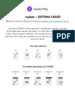 CAGED Guia Completo - Leandro Kasan (GuitarPlay)