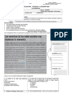 Evaluacion 8 La Noticia y Carta Al Director