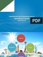 PPT Planificación enseñanza y aprendizaje