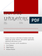 FANTASY LITERATURE.pptx