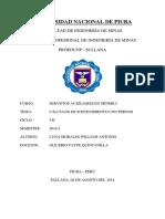 CÁLCULO DE SOSTENIMIENTO CON PERNOS - LUNA MORALES WILLIAM ANTONIO..docx