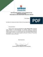 Modelo Carta Coordenador Ufc