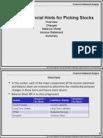 6-FSA Financial Hints to Picking Stocks