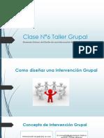 Taller Grupal Clase 6 SBH