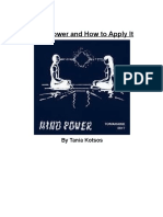 Mind Power and How to Apply It