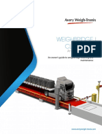 weighbridge maintenance