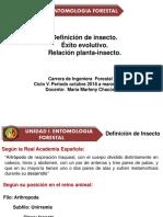Clase 2 Entomoloia for. Definif Ins. Exit Ev. Inecto-planta EST