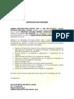FUNCIONES DE UN DIRECTOR DE OPERACIONES DE ARQ