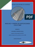 Diseño Sísmico de Edificaciones