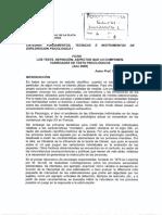 6. Piacente _ Tittarelli (2009) Los Tests. Criterios Para Su Clasificación. Ficha
