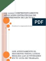 Textos de Comprension Lectora 4to Básico.