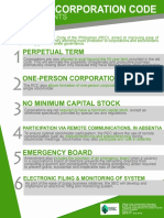 RA 11232 - Revised Corporation Code - Salient Points