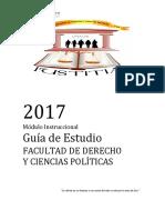 Modulo de Derecho 2017